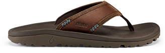 OluKai Men's Kau'aina Leather Beach Sandals