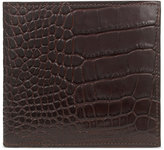 Smythson Mara Embossed Leather Wallet