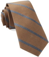 The Tie Bar Camel Wheelhouse Stripe Tie