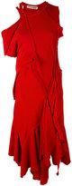Ottolinger patchwork asymmetric dress