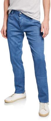 Loro Piana 5-Pocket Linen-Blend Pants