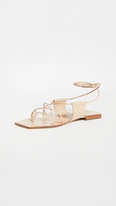 Cult Gaia Maria Lace Up Sandals
