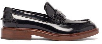 Tod's Patent-leather Penny Loafers - Black