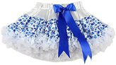 Pettigirl Girl's Pettiskirt With Butterfly White Ruffles 4 Years
