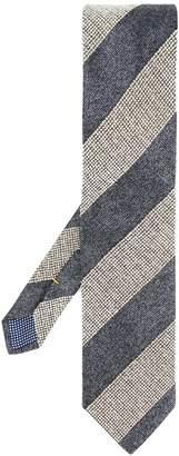 Eton striped print tie