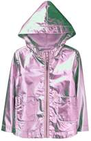 Crazy 8 Metallic Windbreaker