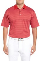 Bobby Jones Men's Dot Stripe Golf Polo