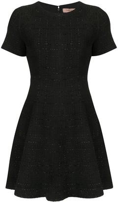 Twin-Set Tweed Flared Dress