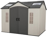 Lifetime Garden Building Shed 10' X 8' - Gray And White