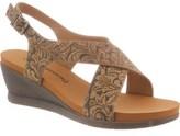 BearPaw Women's Opal Slingback Wedge Sandal.