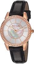 Pierre Cardin Petit Soleil PC106082 °F08 Analogue Quartz Leather Women Wrist Watch