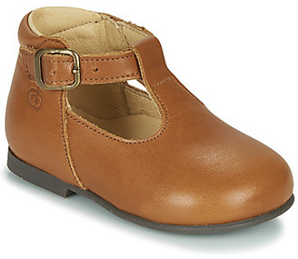 Citrouille et Compagnie LISATELLE girls's Shoes (Pumps / Ballerinas) in Brown