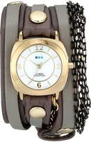 La Mer Women's LMMULTICW2001 Chain Wrap Collection Aperitif Watch