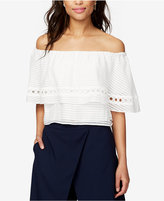 Rachel Roy Ruffled Off-The-Shoulder Top, Created for Macy's