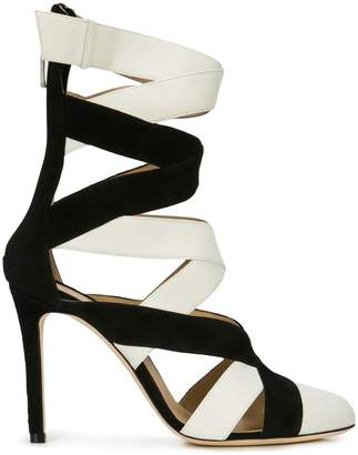 Repetto interlaced high-heel sandals
