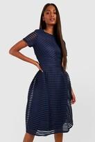 boohoo Boutique Zaira Full Skirted Prom Midi Dress