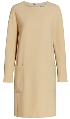 Max Mara Maratea Crewneck Shift Dress