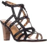 Franco Sarto Calesta Heeled Sandals, Black.