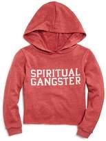 Spiritual Gangster Girls' Logo Hoodie - Little Kid