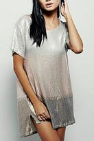 Free People Sequin Shift Dress