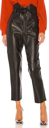 L'Academie Delaney Leather Pants
