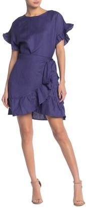 ASTR the Label Ruffle Waist Tie Dress