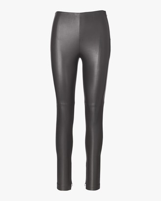 Ralph Lauren Collection Stretch Leather Eleanora Pants