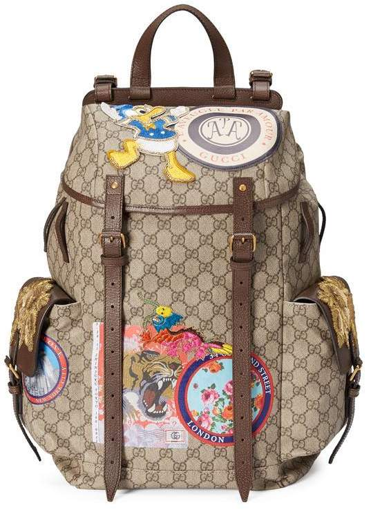 gucci book bags for men. gucci soft gg supreme backpack with appliqués. \u2039 \u203a book bags for men