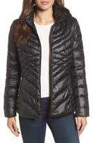 Halogen Women's Hooded Down Blend Puffer Jacket