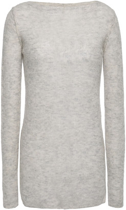 By Malene Birger Melange Ribbed-knit Sweater