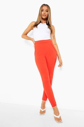 boohoo Basic Crepe Stretch Skinny Pants