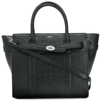 Mulberry Small Bayswater Crocodile Shoulder bag