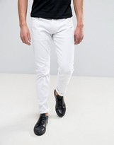 Armani Jeans Slim Fit Jeans in White