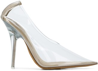 Yeezy Transparent Pointed Toe Pumps