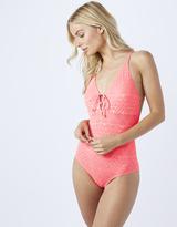 Accessorize Simone Macrame Back Swimsuit