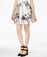 Amy Byer Juniors' Printed Skater Skirt