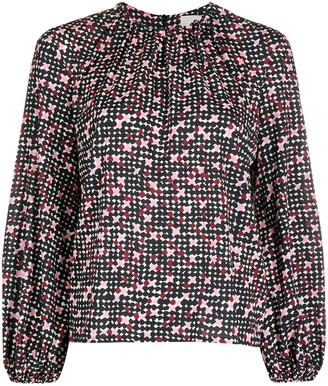 La DoubleJ Charming spot print blouse