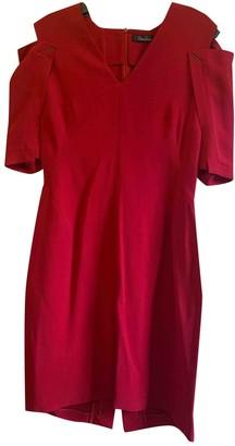 Marios Schwab Red Dress for Women