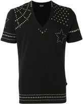 Just Cavalli metallic stud T-shirt - men - Cotton - L