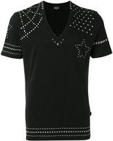 Just Cavalli metallic stud T-shirt - men - Cotton - M
