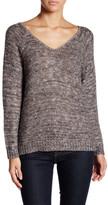 14th & Union Double V-Neck Sweater (Petite)
