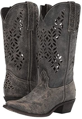 Laredo Chopped Out (Grey) Cowboy Boots