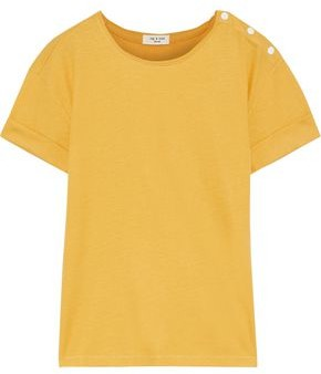 Rag & Bone Mac Ribbed Cotton And Modal-blend T-shirt