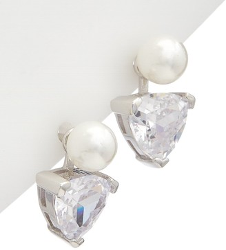 Alanna Bess Limited Collection Silver 3Mm Pearl Cz Studs