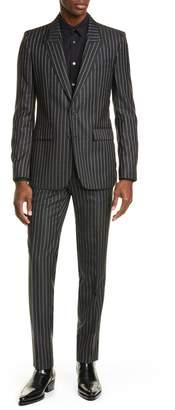 Givenchy Slim Fit Logo Stripe Suit
