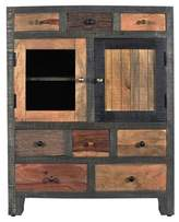 Christopher Knight Home Marc Mango Framed Cabinet - Natural - Treasure Trove