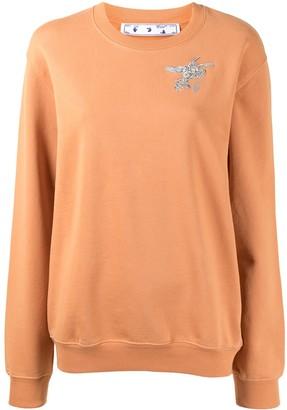 Off-White Arrows-motif long-sleeve sweatshirt