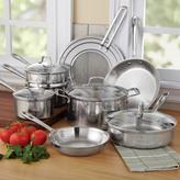 Emerilware Pro Clad Stainless Steel Cookware Set, 12 piece
