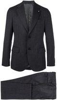 Lardini notched lapel formal suit