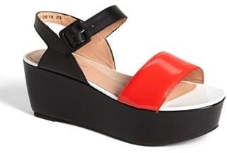 Robert Clergerie 'Frak' Wedge Sandal